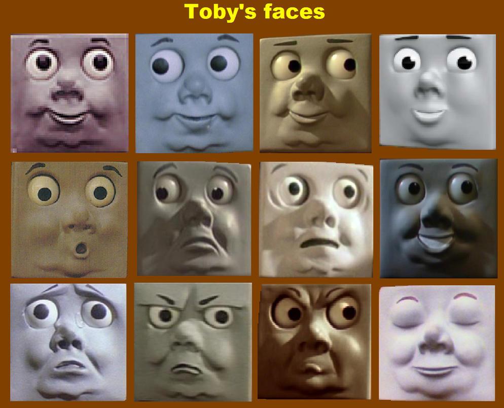 Toby's Faces by grantgman on DeviantArt