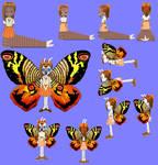Mothra Reanne by grantgman