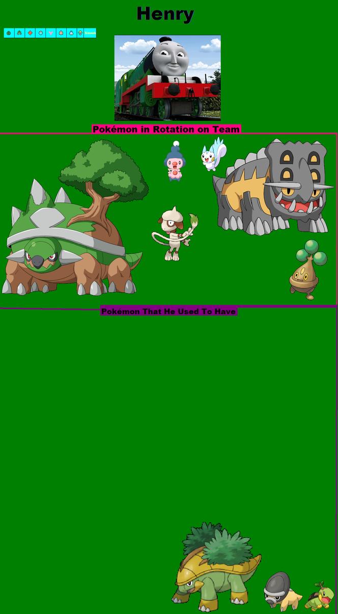 Pokémon Henry Hudson 10 10: Henry's Pokemon By Grantgman On DeviantArt