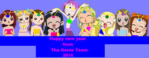 Happy new year from the genie team 2015