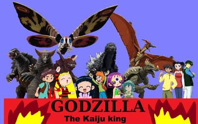 Godzilla the kaiju king by grantgman