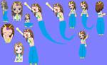 Genie Elsa Season 6 Sketches by grantgman