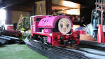 Dorie the pink engine by grantgman