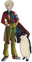 The 6th Doctor and Frobisher