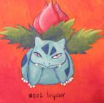 Fine Art Friday - Ivysaur