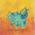 Fine Art Friday - Bulbasaur
