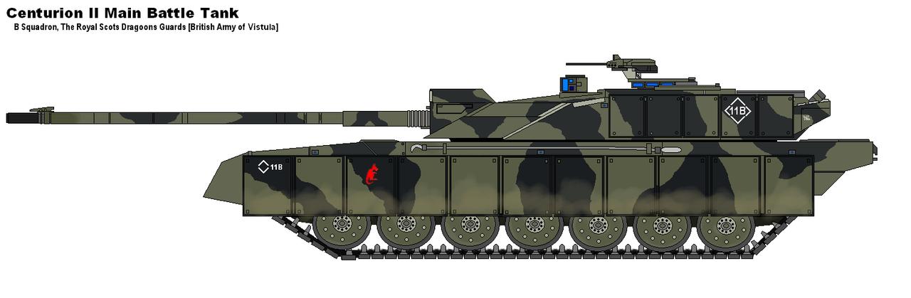 Centurion II MBT by PaintFan08