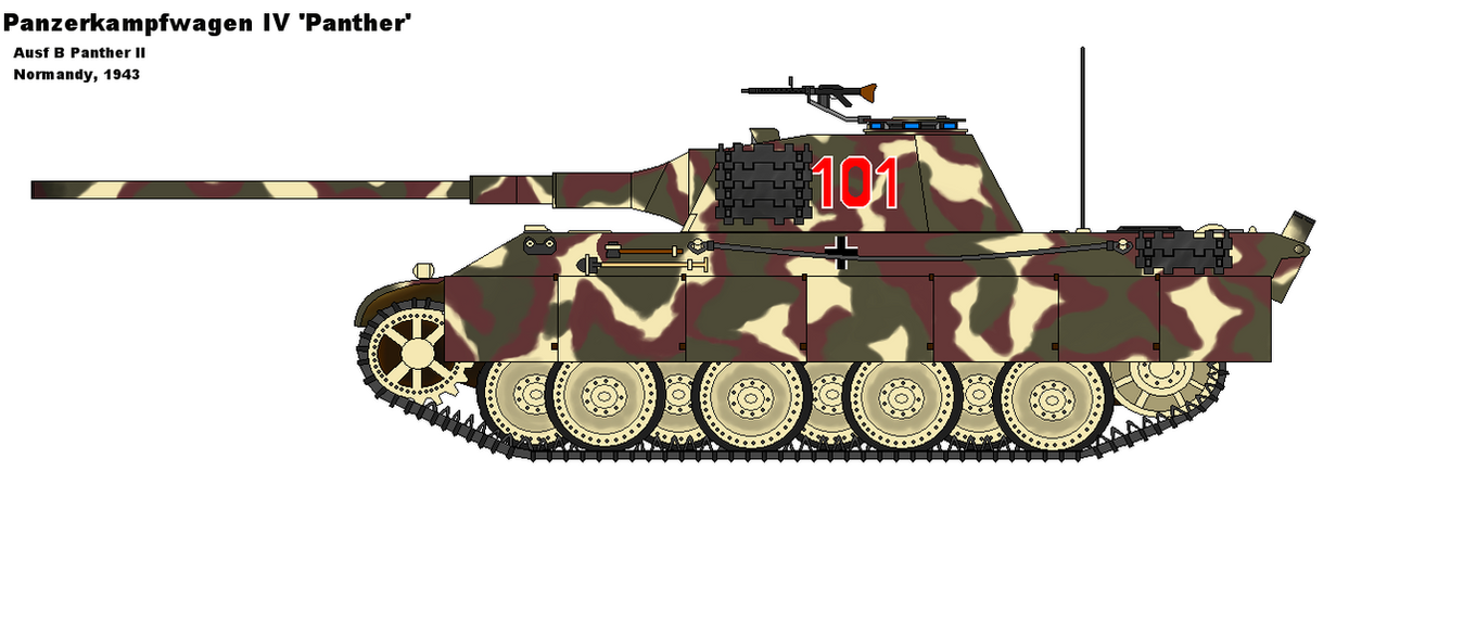 Panther Tank Alternate History by PaintFan08