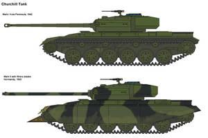 Churchill Tank AH by PaintFan08