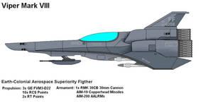 Viper VII Aerospace Fighter