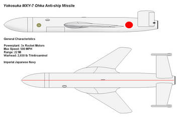 Ohka Missile by PaintFan08