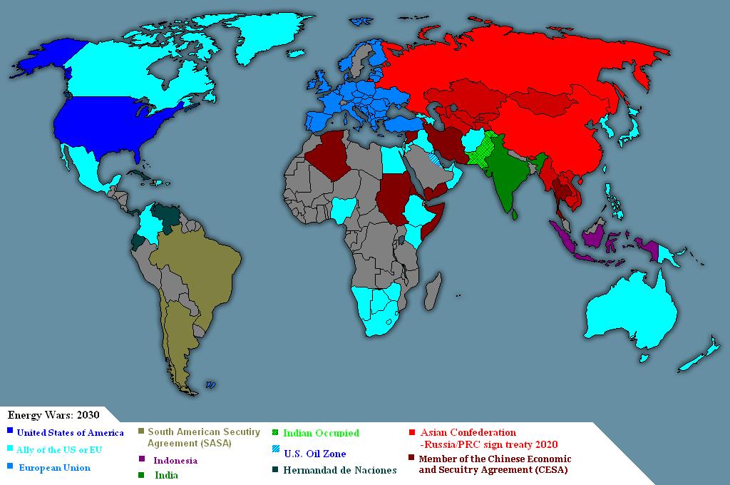 Energy Wars Map by PaintFan08