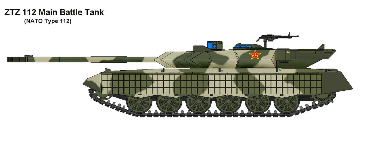 ZTZ-112 MBT by PaintFan08