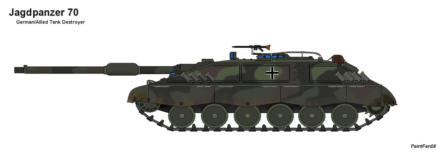 Jagdpanzer 70 by PaintFan08