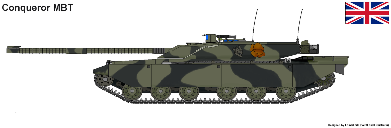 Conqueror MBT by PaintFan08