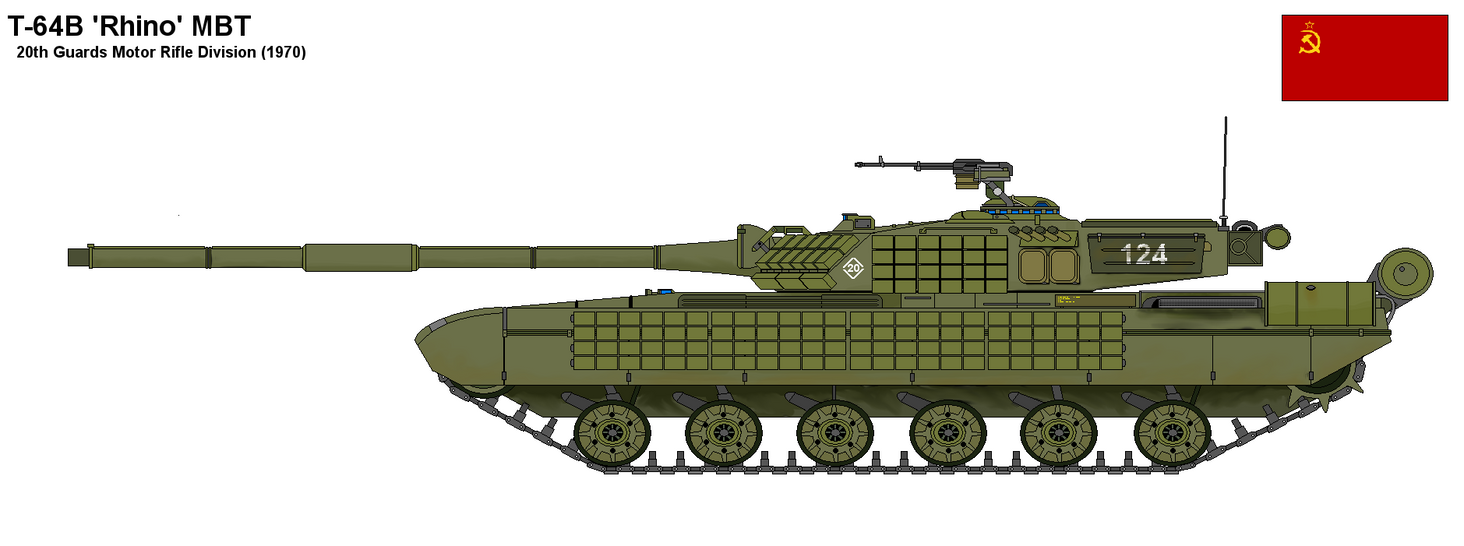 T-64 Rhino Main Battle Tank by PaintFan08