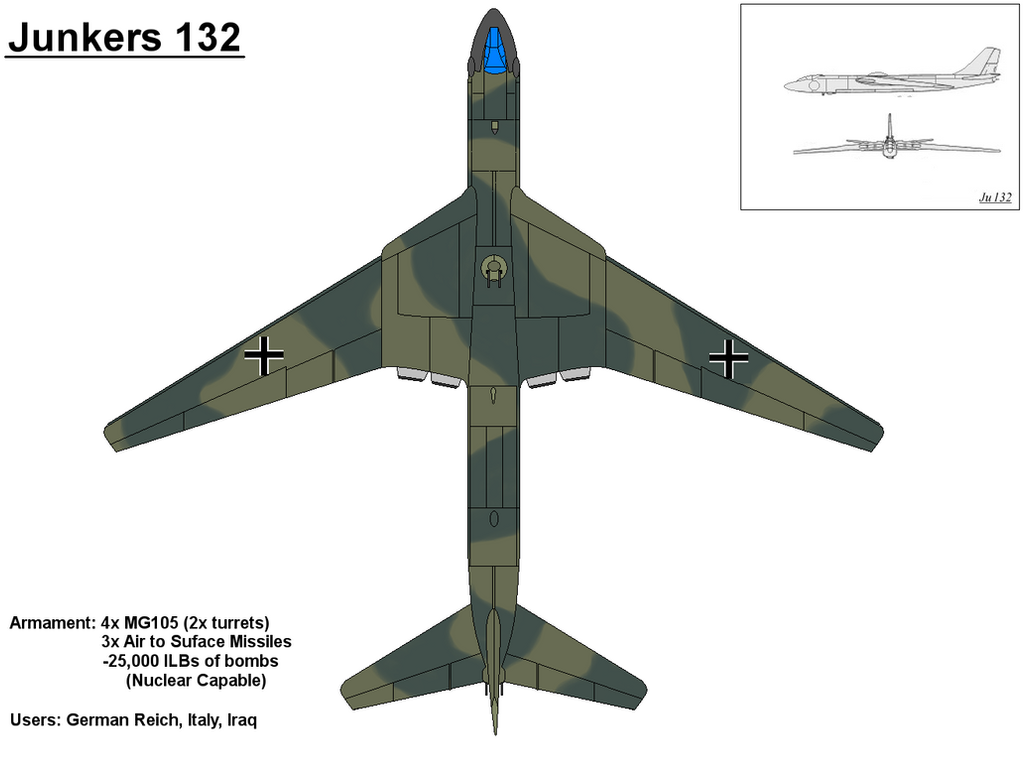 Ju 132 Bomber by PaintFan08