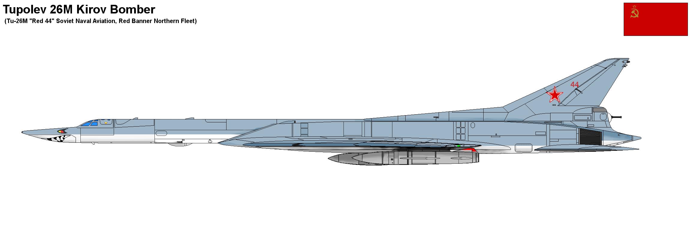 Tu-26M Kirov Bomber by PaintFan08