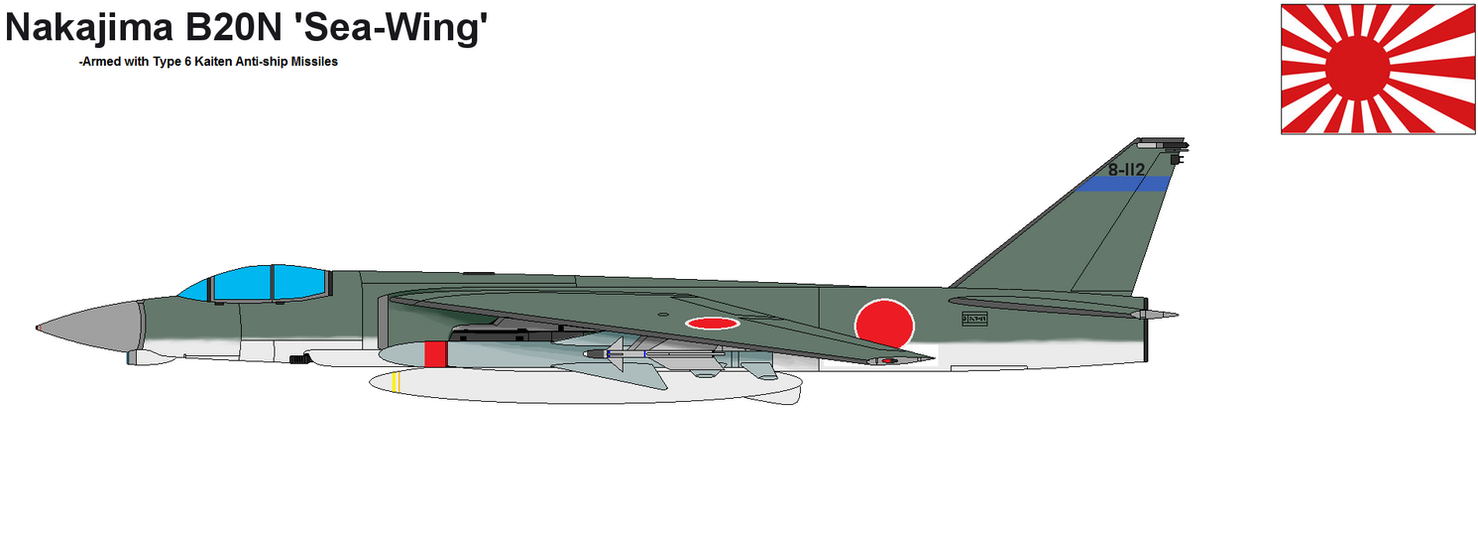Japanese Sea-Wing Bomber by PaintFan08