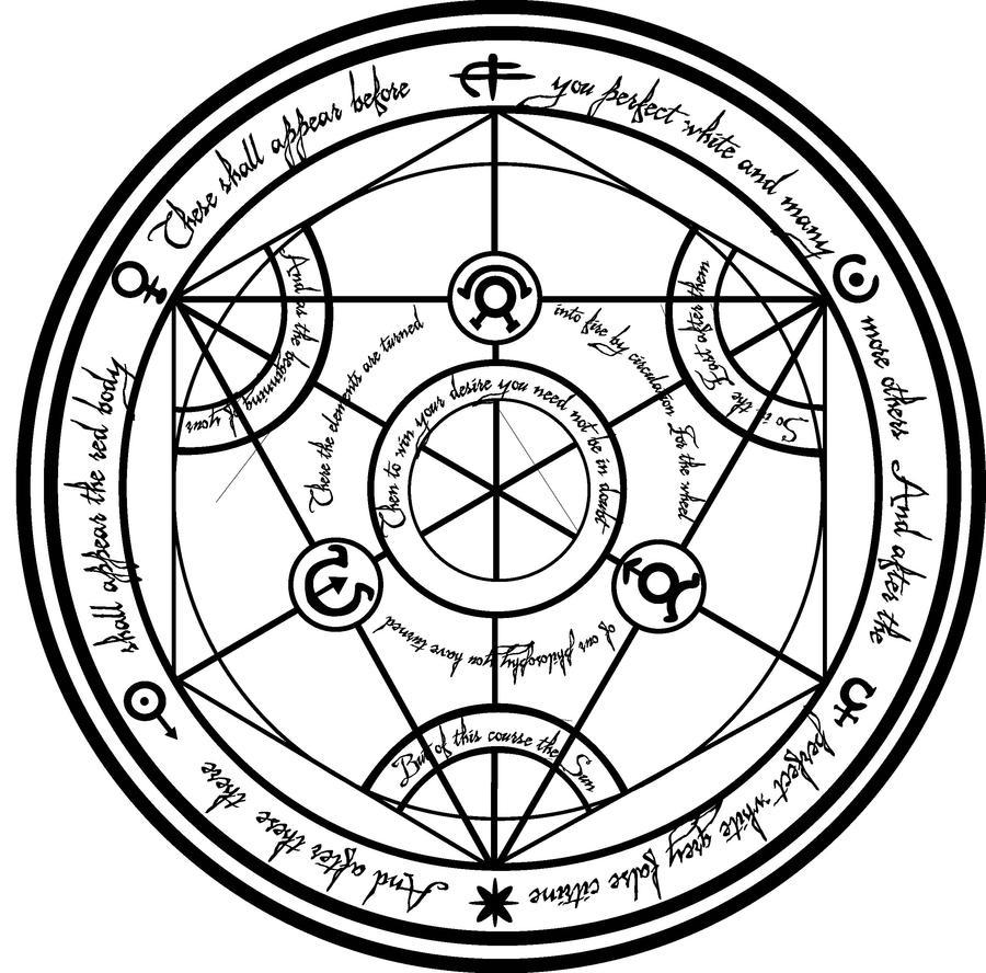 Transmutation Circle By Koalaexe On Deviantart