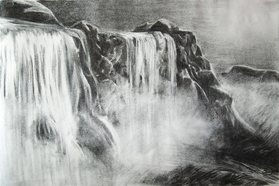 Waterfalls by Daphneven on DeviantArt