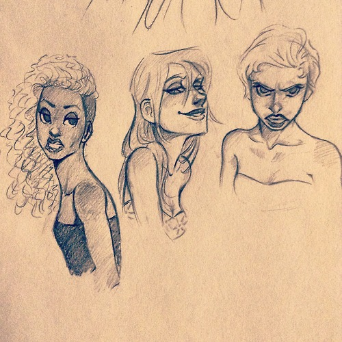 Sassy Ladies by dewdrop34