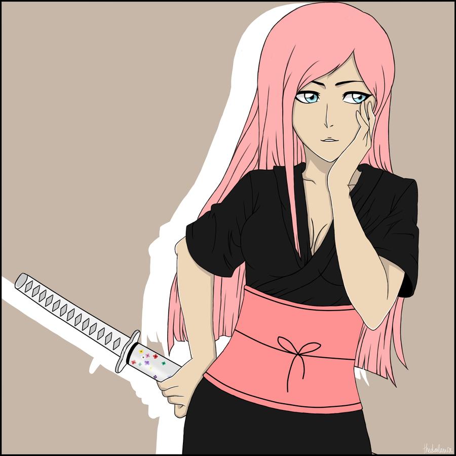 Young Hanami Sakura by Lanokir