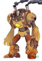 :C: Cogwheel Tyki - The Rusty Giant by LanokirX