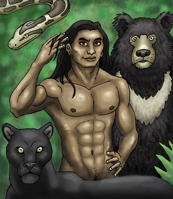 Mowgli by SkyJaguar
