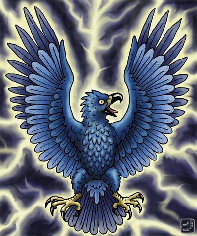 Thunderbird Bird Art - photo#30