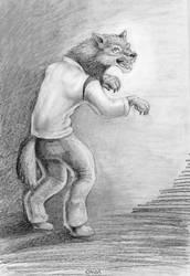Werewolf by SkyJaguar