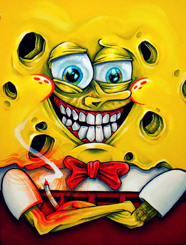 Bob the Sponge. by kanos07