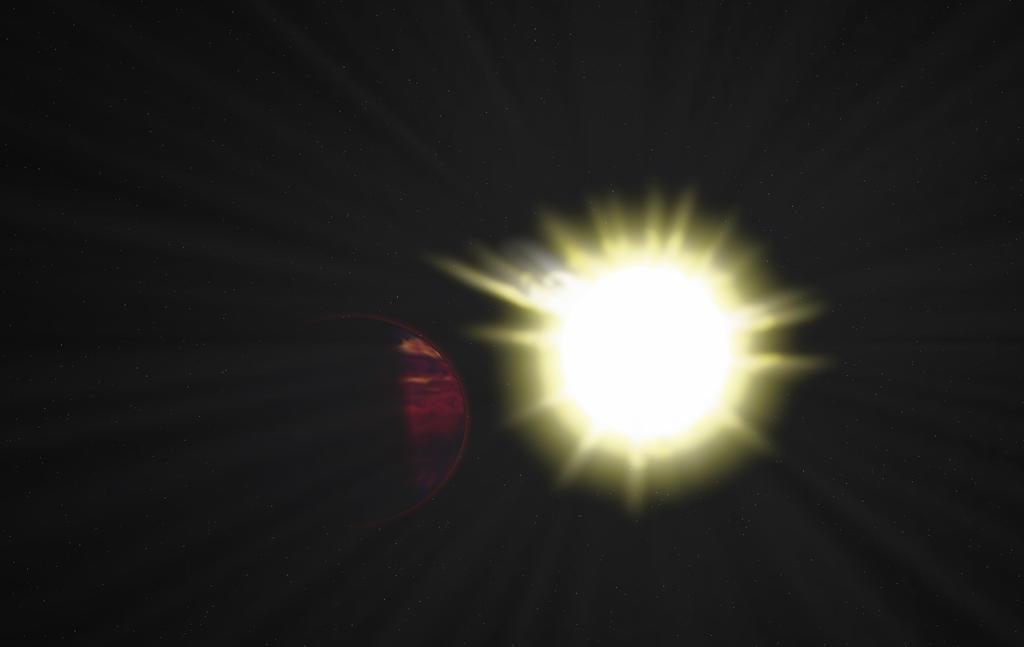 hell planet II by xwade