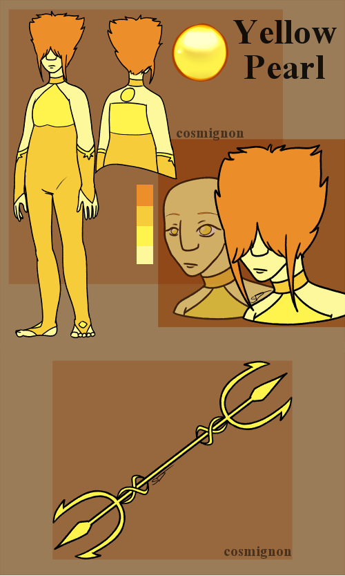Yellow Pearl by ZimGalForevah