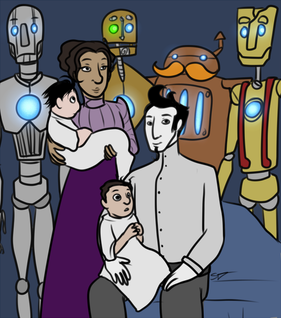 Fam Portrait by ZimGalForevah
