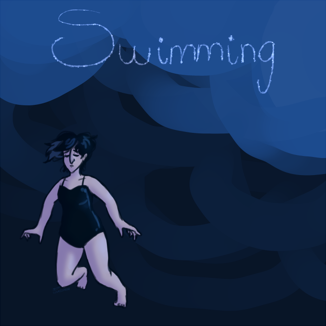 Swimming by ZimGalForevah