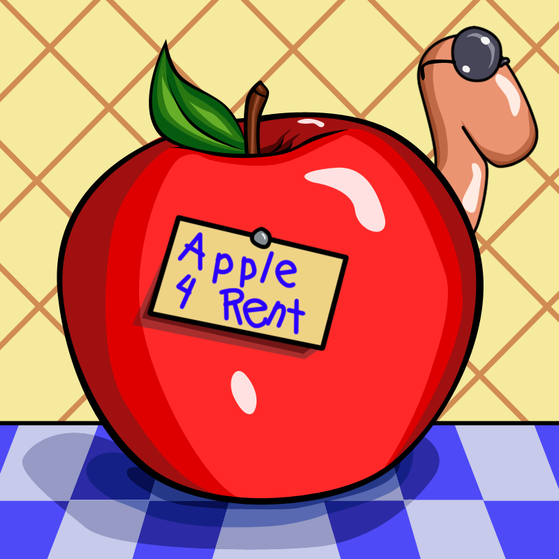 Apple 4 Rent by elphaba-rose-wilde