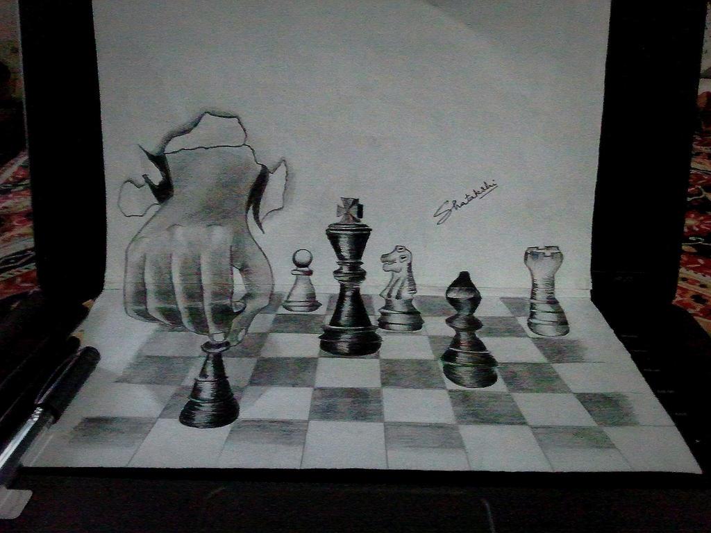 Chess Art Paintings