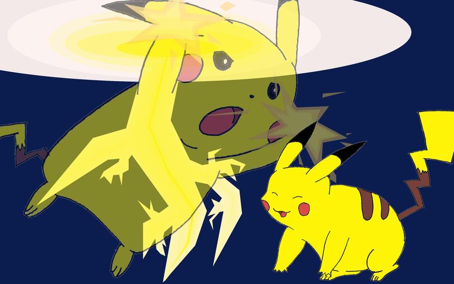 Pikachu used Thundershock by lastwingedwolfflying on ...