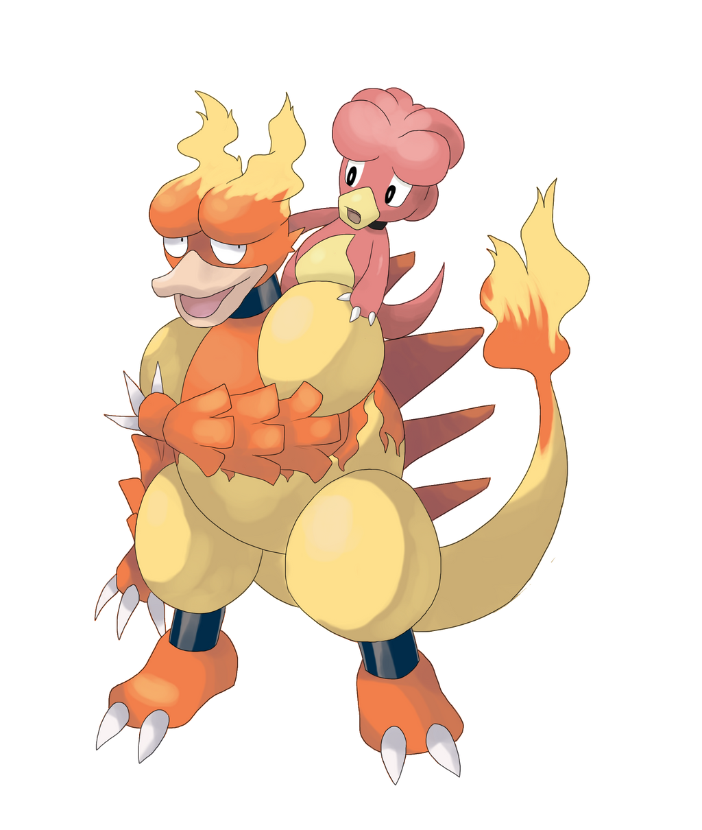 Magmar and Magby by seasonfade on DeviantArt