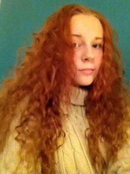 My Merida hair!