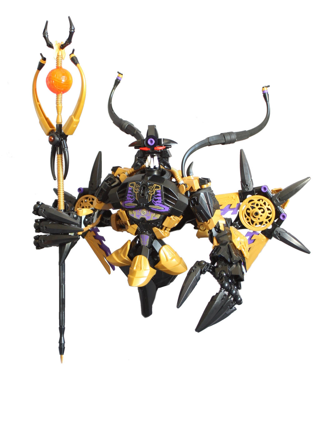 Makuta, Overlord of the shadow realm (demonic form by LoysNuva on ...