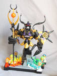 Makuta, Overlord of the shadow realm (demonic form