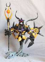 Makuta, Overlord of the shadow realm (demonic form by LoysNuva
