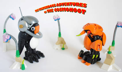 The tremendous adventures of THE COSMONOOT by LoysNuva