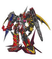 10 Rider Mega Decarobo by danipatel