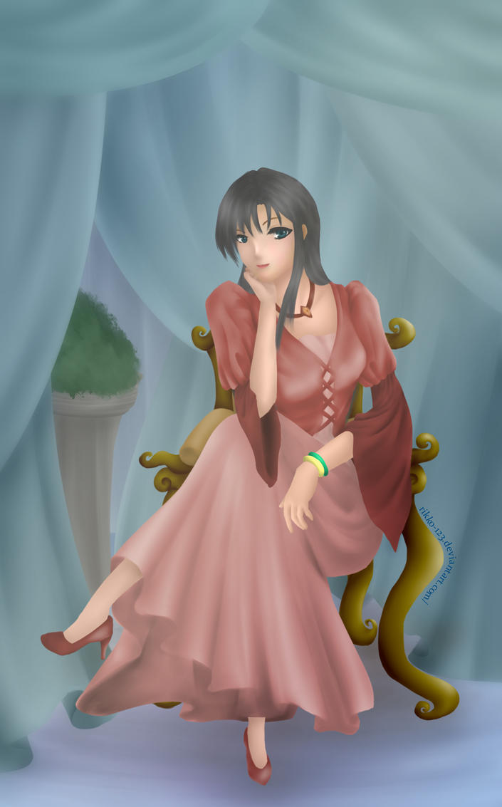 Model Princess - Melananime Contest entry by rikko-123