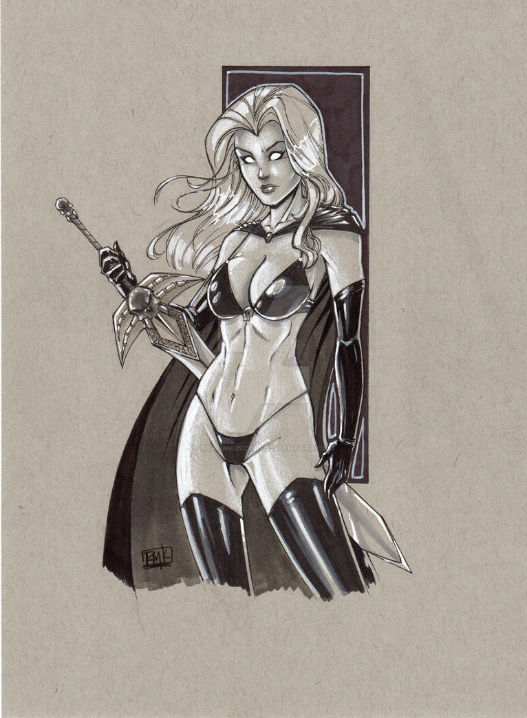 lady death auction piece by RyanMKincaid