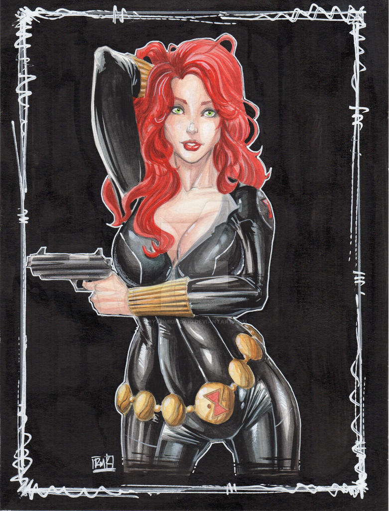 black widow by RyanMKincaid