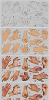 Hand study 2 - Steps by irysching